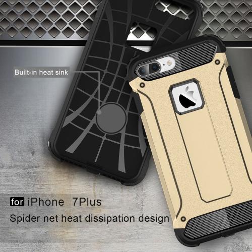 Tough armor kryt na iPhone 7 Plus   iPhone 8 Plus - zlatá - Bakamo ... 6ae5c39e22a