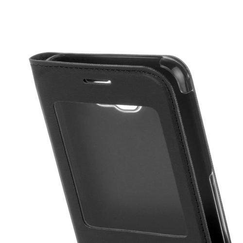 Knižkové puzdro Window na Samsung Galaxy J5(2017) - čierna - Bakamo ... b5789e4e239