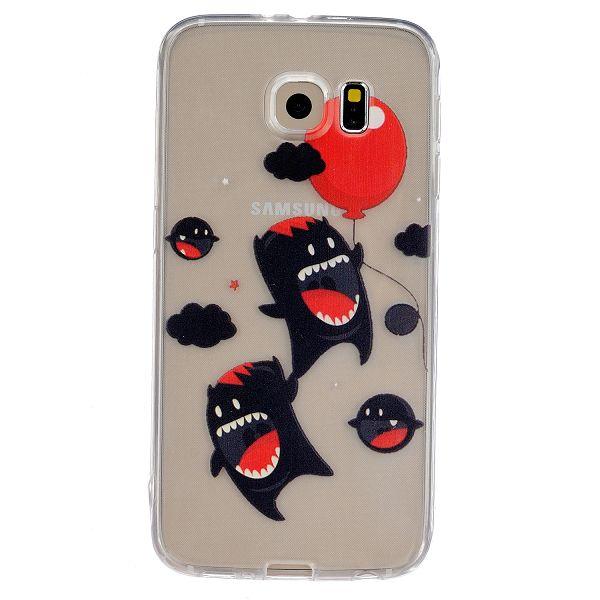 f44f74e1d Gumený kryt Monster na Samsung Galaxy S6 - Bakamo.sk - Kryty,obaly ...