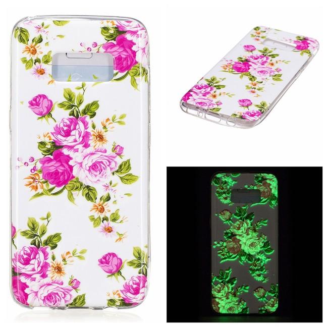 b1a034ee7 Gumený kryt Pink Flowers na Samsung Galaxy S8 - Bakamo.sk - Kryty ...