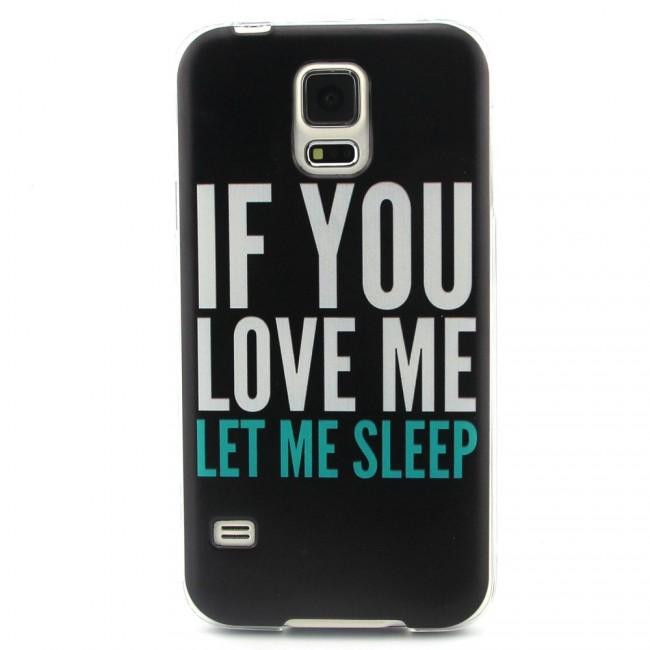 Gumený kryt Sleep na Samsung Galaxy S5 - Bakamo.sk - Kryty 6b3bac27072