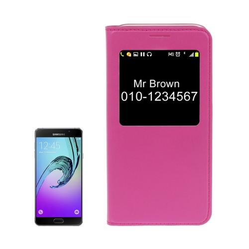 Knižkové púzdro Lichi na Samsung Galaxy A3(2017) - magneta e86f8f0aa34