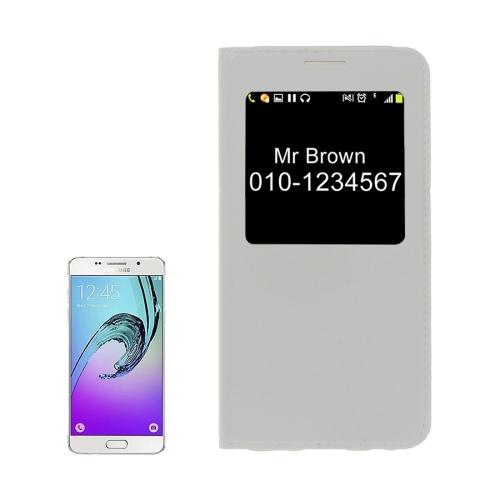 Knižkové púzdro Lichi na Samsung Galaxy A5(2017) - biela 02135347a6c