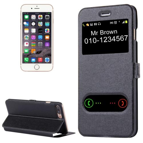 Knižkové púzdro Window na iPhone 7 Plus - čierna - Bakamo.sk - Kryty ... a43d182a1f5