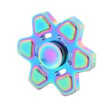 Kovový Fidget Spinner Farebný Hviezda