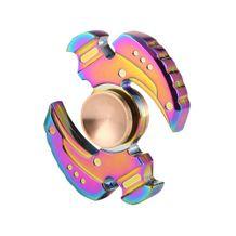 Kovový Fidget Spinner Farebný Kladivo