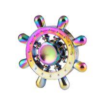 Kovový Fidget Spinner Farebný Kormidlo