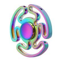 Kovový Fidget Spinner Farebný Maze