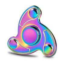 Kovový Fidget Spinner Farebný Plazma