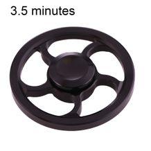 Kovový Fidget Spinner Koleso - čierna