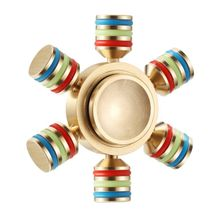 Mosadzný Fidget Spinner Pouch - zlatá