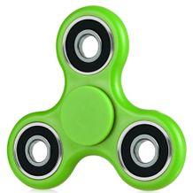 Plastový Fidget Spinner Classic - zelená
