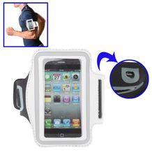 Bežecké puzdro na iPhone 4 4s - biela d4c428b066f