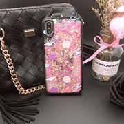 Gumený kryt 3D Diamond na iPhone X  Xs- Pink ... 344018d56b4