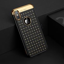 Gumený kryt BASEUS na iPhone X  Xs- Black ... a3e1f1eb698