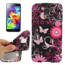 Gumený kryt Butterfly na Samsung Galaxy S5 a7d195a6b85