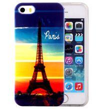 Gumený kryt Eiffel Tower na iPhone 5S SE 8033536d481