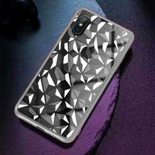 Gumený kryt Electroplating na iPhone X  Xs- strieborná ... c69632f63c3