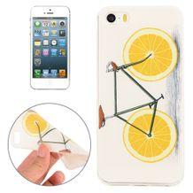 Gumený kryt Lemon Bike na iPhone 5S SE 02968397576