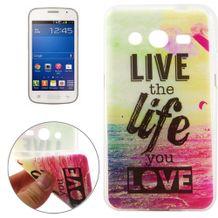 Gumený kryt Live The Life na Samsung Galaxy Core 2 cfe15c31083