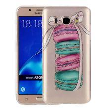 Gumený kryt Macarons na Samsung Galaxy J7(2016) 04474ffa31e