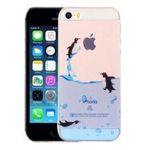 Gumený kryt Penguins na iPhone 5S SE 2f3c85b9d2d