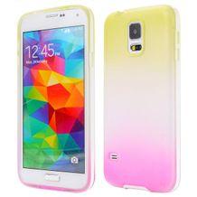 Gumený kryt Rainbow na Samsung Galaxy S5 ff1ed3db547