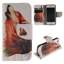 Peňaženkové puzdro Howl Wolf na iPhone 5 5s 859ee869e36
