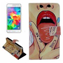 Peňaženkové puzdro Sexy Girl Pattern na Samsung Galaxy Grand prime 9f0a64a7b2d
