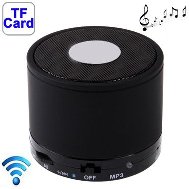 Prenosný Bluetooth reproduktor S10 Mini - čierna