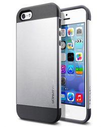 Slim armor kryt na iPhone 4 4s - strieborná 47095c9b2cb