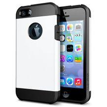 Tough armor kryt na iPhone 5S SE - biela 200b2930ca1