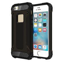 Tough armor+ kryt na iPhone 5S SE - čierna dcac1b8735e