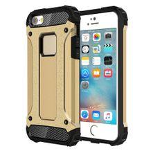 Tough armor+ kryt na iPhone 5S SE - zlatá 5afcc041110