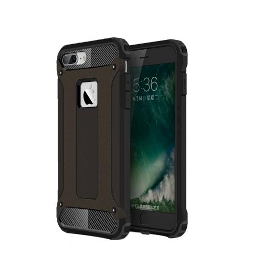 Tough armor kryt na iPhone 7 Plus   iPhone 8 Plus - čierna bd48f4a907e
