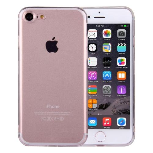 Ultra-tenký Gumený kryt Transparent na iPhone 7   iPhone 8 - priesvitná b928a1135ba